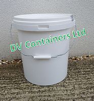 Boxes and Buckets - BB012-WHITE BUCKET 17lt-20lt