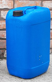 Plastic containers - Blue 25 Litre container
