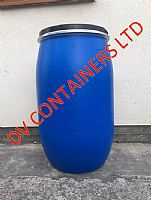 Plastic barrels/Metal drums - 120 Litre Blue Drum